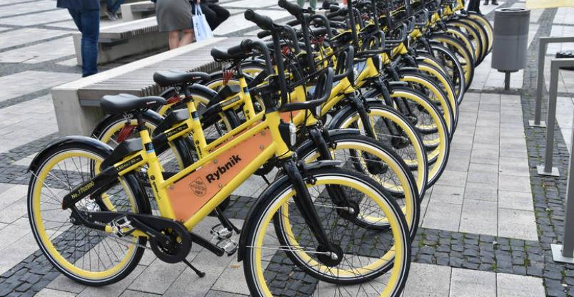 Złotoryja wsiada na rower miejski czwartej generacji